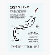 Circuit De Monaco Photographic Print