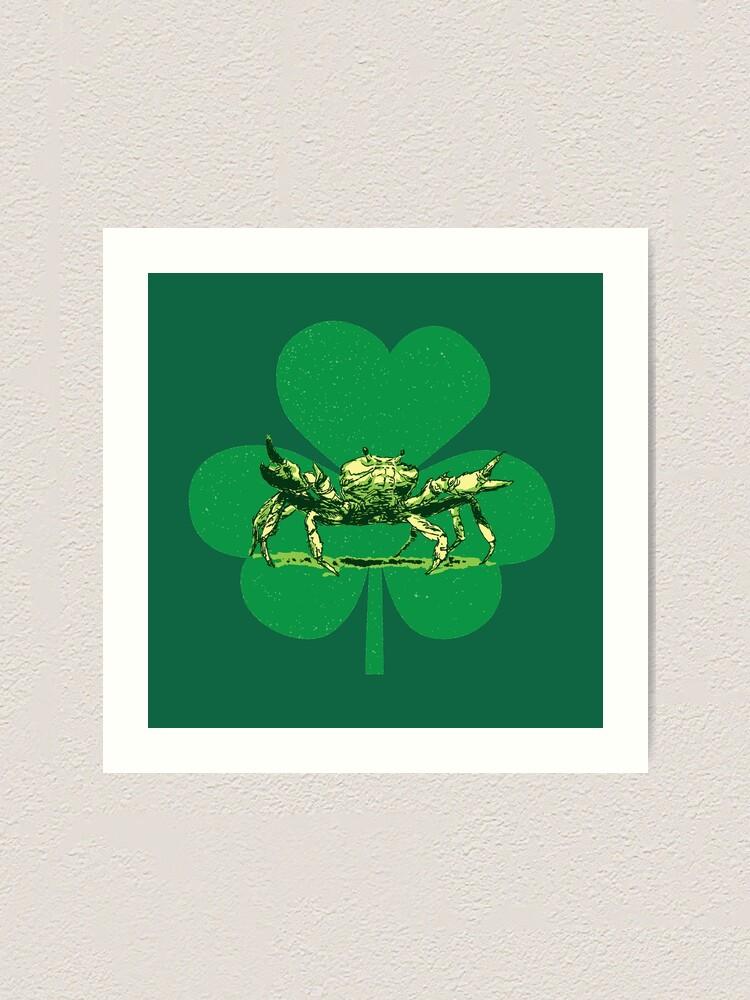 Alternate view of A Pinch o' Green Art Print