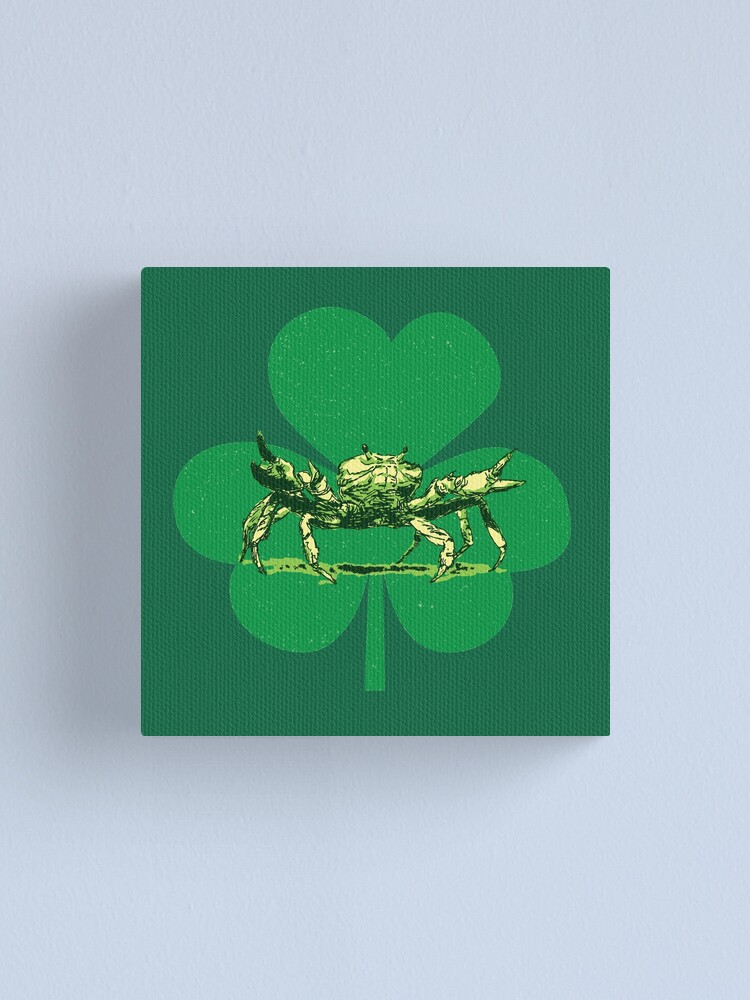 Alternate view of A Pinch o' Green Canvas Print