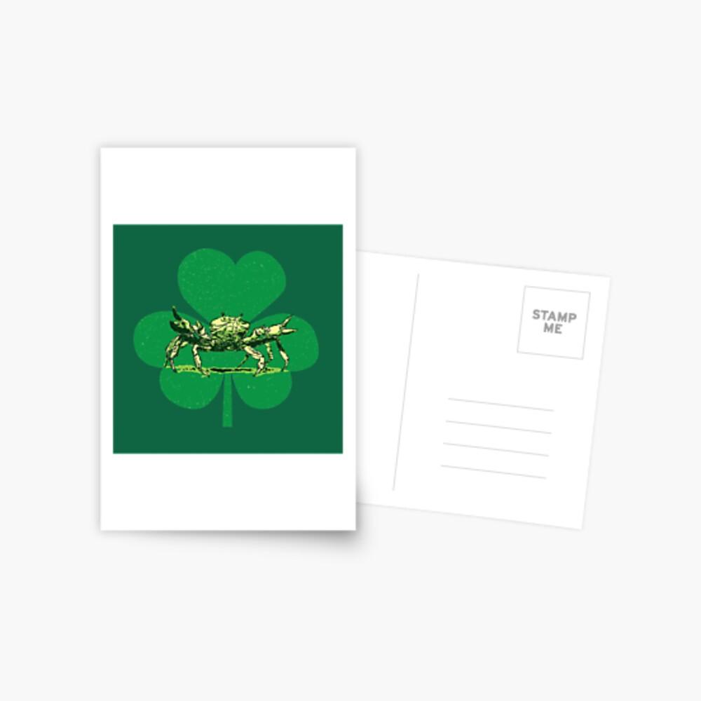 A Pinch o' Green Postcard
