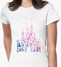 Character Castle Inspired Silhouette Women's Fitted T-Shirt