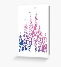 Character Castle Inspired Silhouette Greeting Card