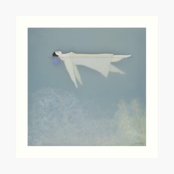 Afloat (Water Woman X) Lámina artística