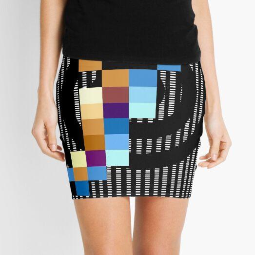 Spiral Mini Skirt