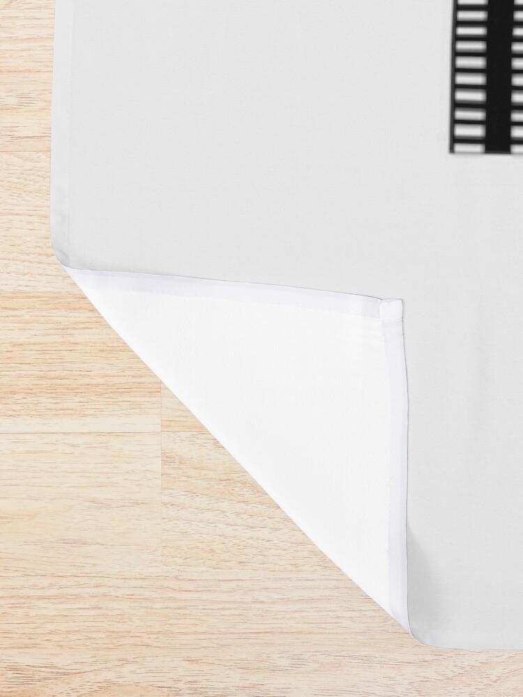 Alternate view of Spiral Shower Curtain