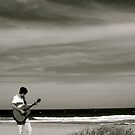 strumming solo by Michael Gray