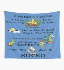 Your A Rocko Wall Tapestry