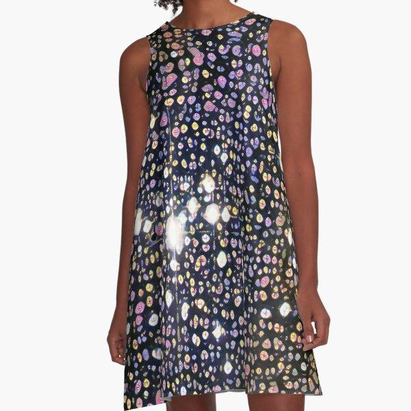 Galaxies Abound A-Line Dress