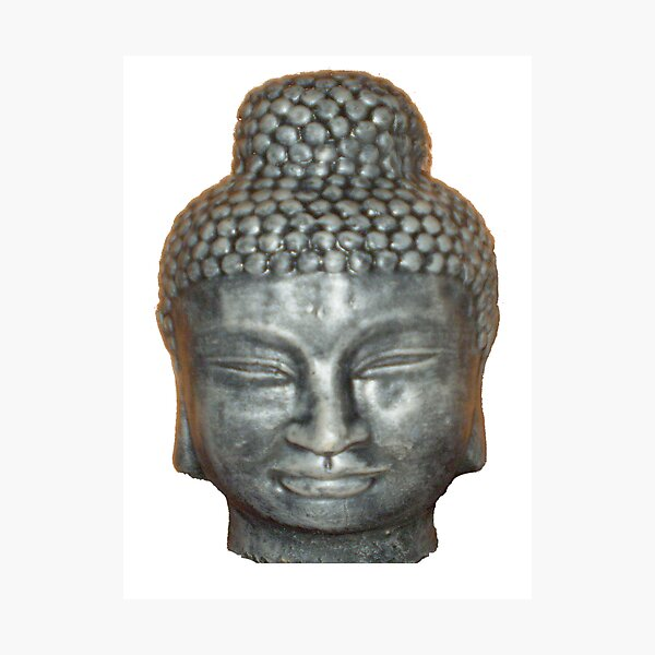 Face of Buddah Photographic Print