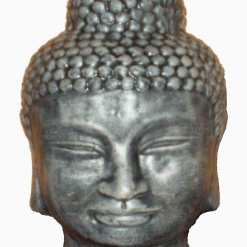 Face of Buddah by erroha