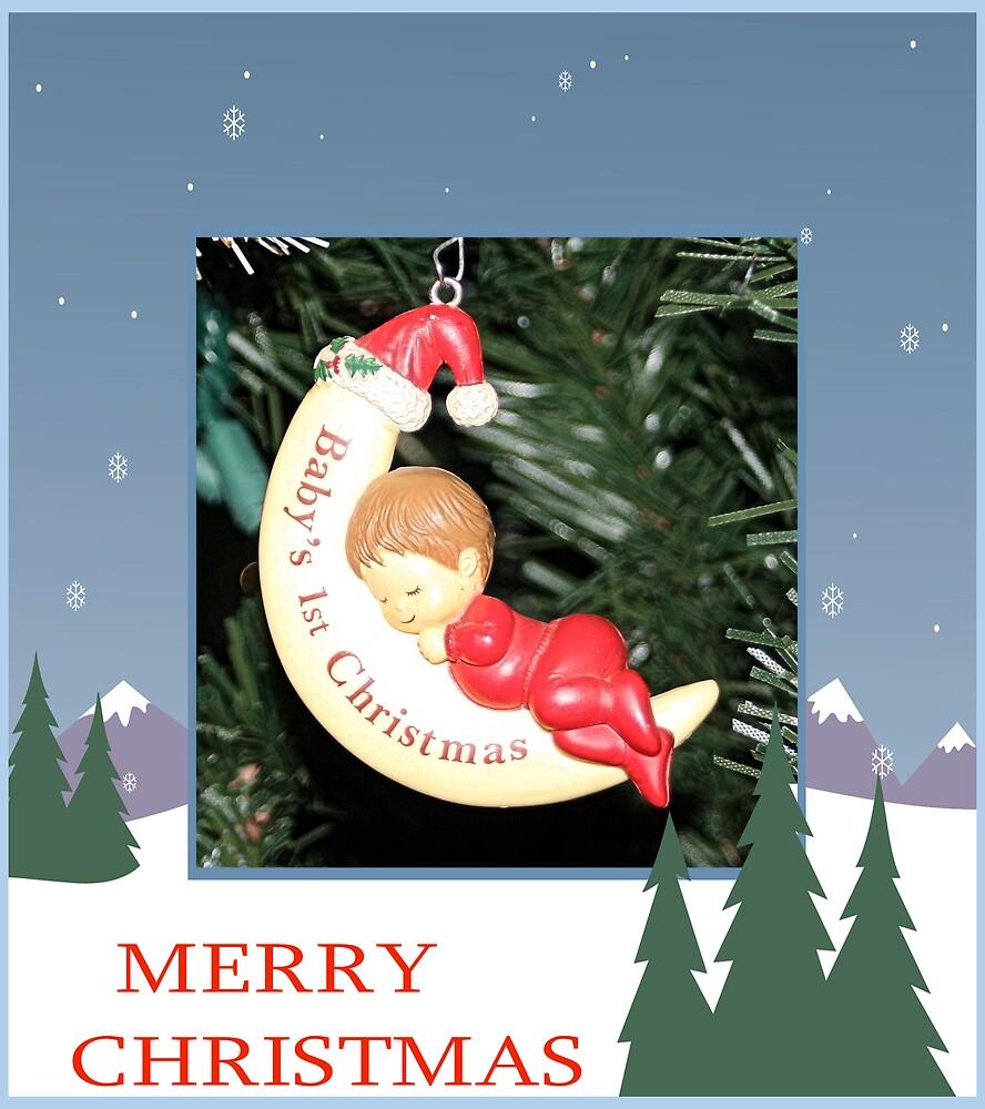 CHRISTMAS CARD-BABY`S 1ST CHRISTMAS by BOLLA67