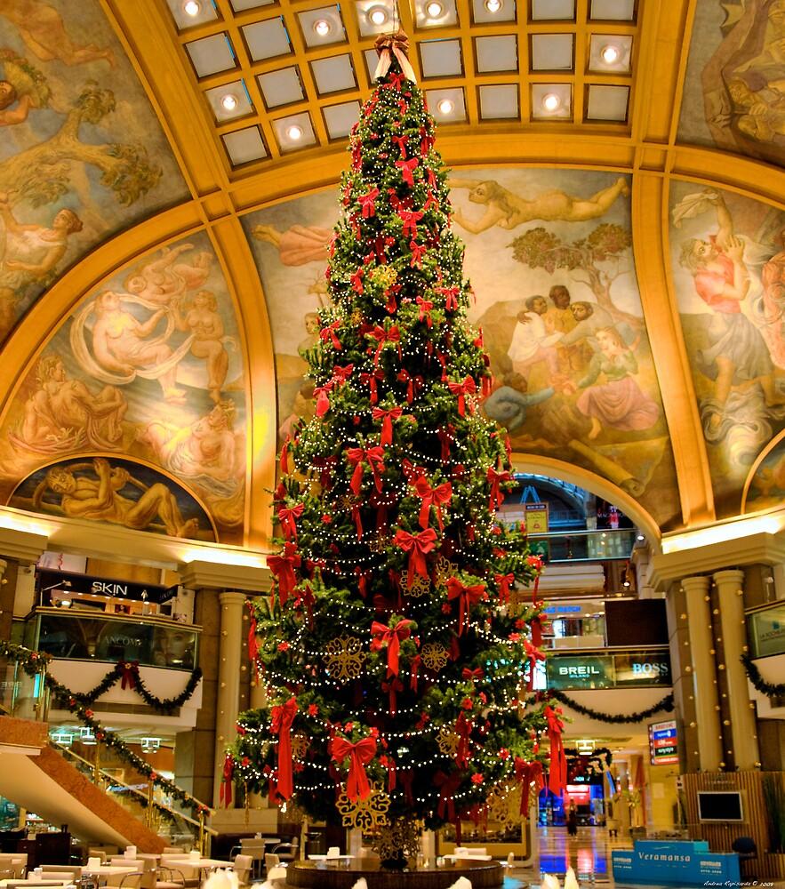 A big Christmas tree by Andrea Rapisarda