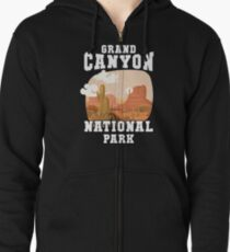Grand Canyon National Park Zipped Hoodie