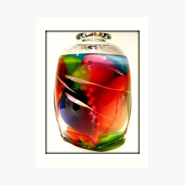 Fancy Glass Art Print