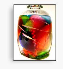 Fancy Glass Canvas Print