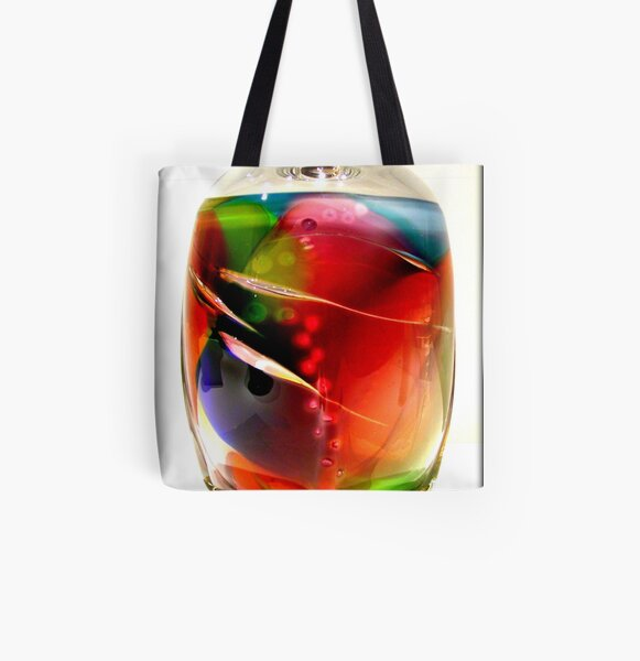 Fancy Glass All Over Print Tote Bag