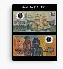 Australia $10 - 1991 Canvas Print