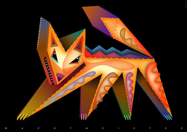 Vector Fox (2008) by Bernd Wachtmeister