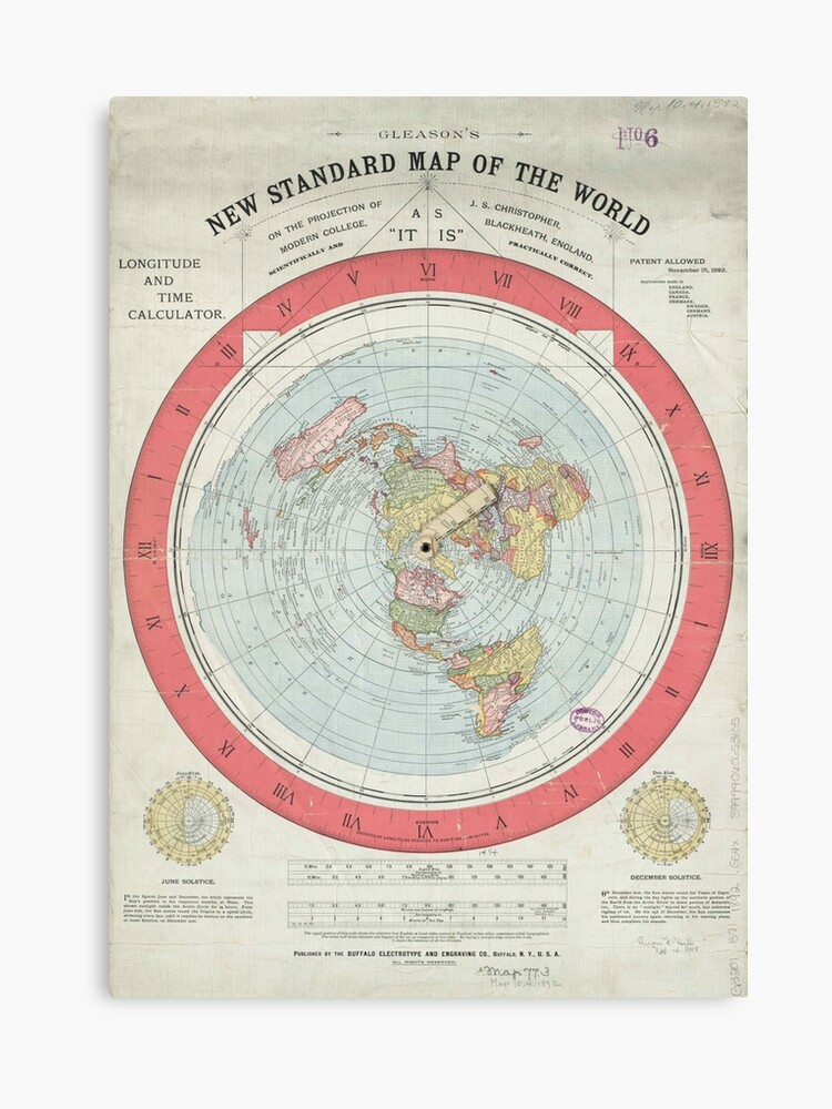 Gleason\'s new standard map of the world\