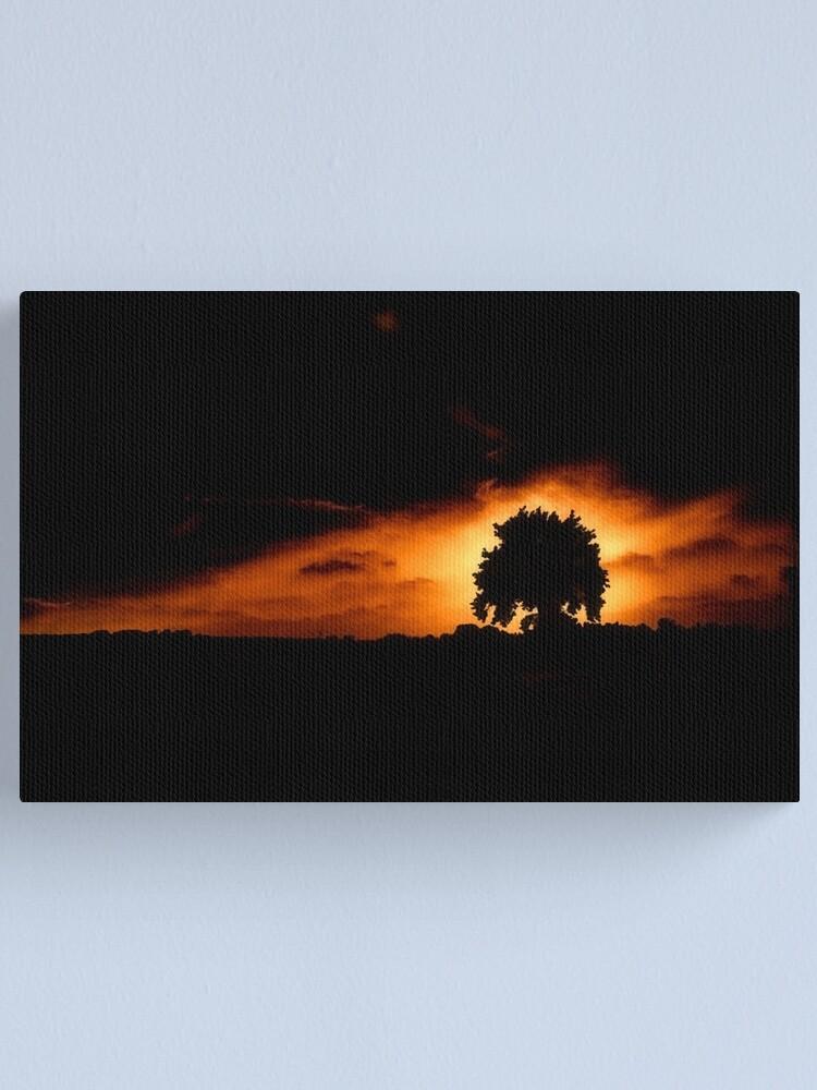 Alternate view of Tree, Darkness Canvas Print