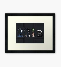 SuperWhoLock Important Things Within 221B Framed Print