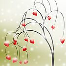Tree of Hearts by franzi