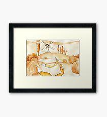 fox. Tuscany Framed Print