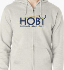 Hugh O'Brian Youth Leadership Seminar Art Zipped Hoodie