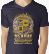 XTREME HIERARCHY COAT OF ARMS Men's V-Neck T-Shirt