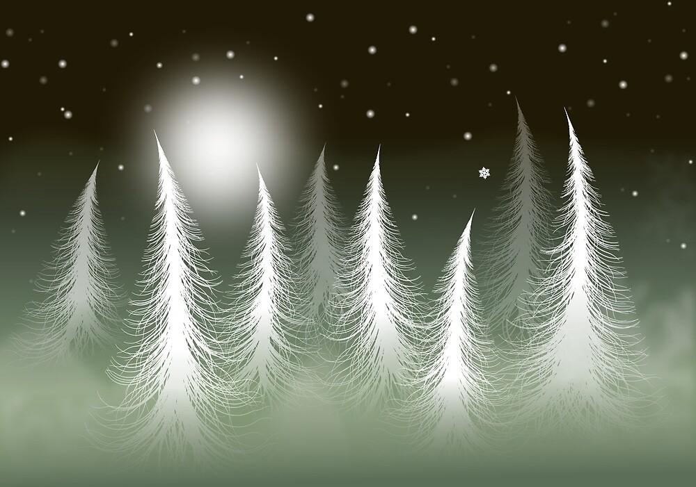 Lost Snowflake by franzi
