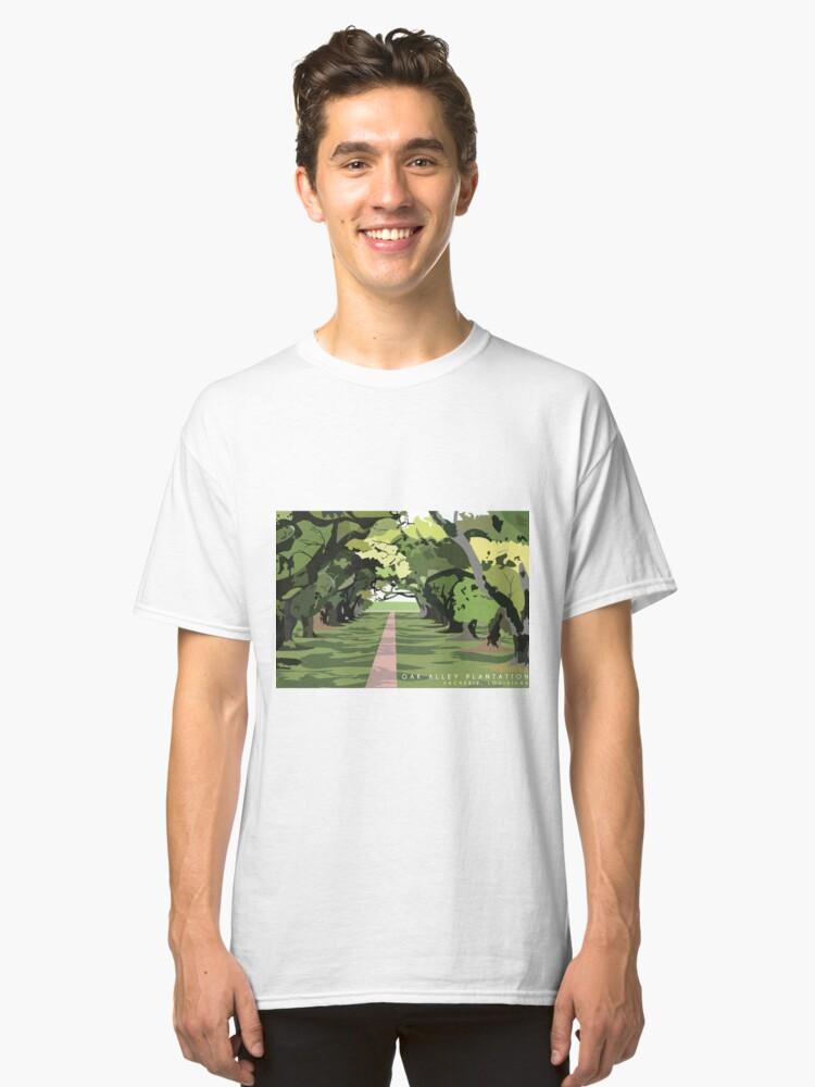 Oak Alley Plantation Classic T-Shirt Front