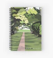 Oak Alley Plantation Spiral Notebook