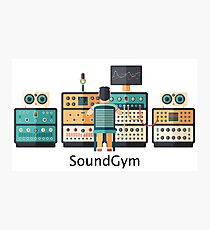Music producer | SoundGym Photographic Print