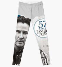 Keanu Reeves GO Magazine (With His Signature) Leggings