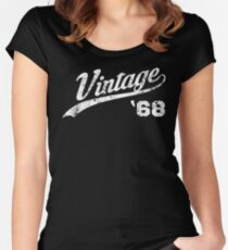 1968 Vintage Birthday Women's Fitted Scoop T-Shirt
