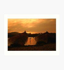 Row For The Sun Art Print