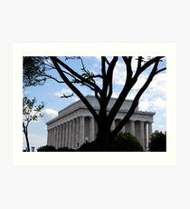 Lincoln Memorial, Washington DC Art Print
