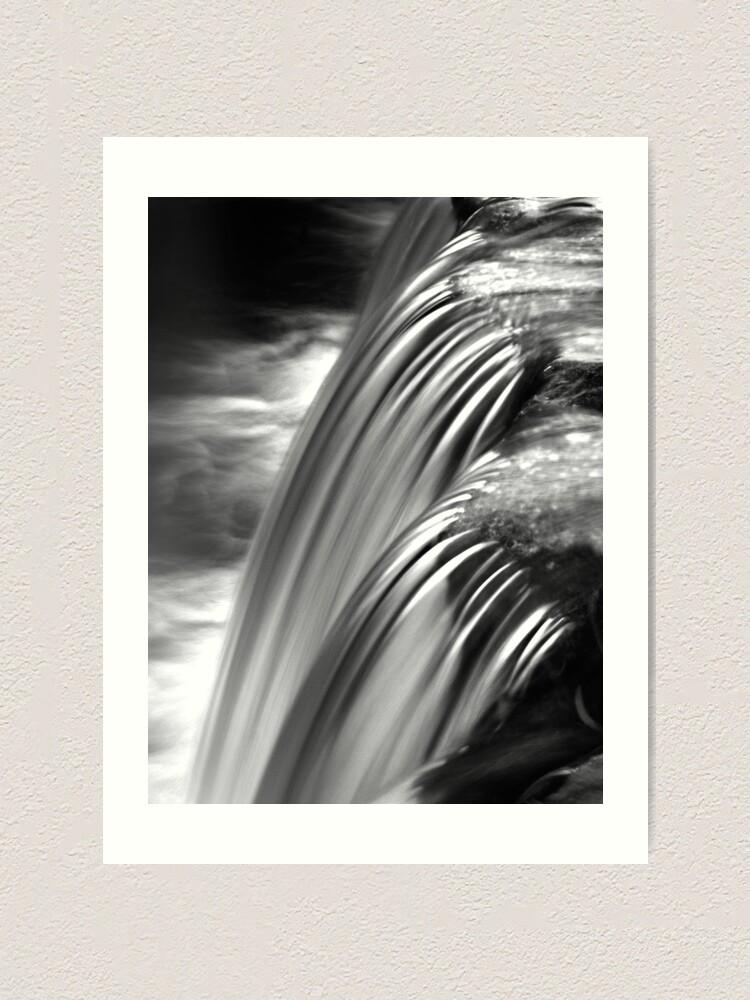 Alternate view of Cascade Art Print