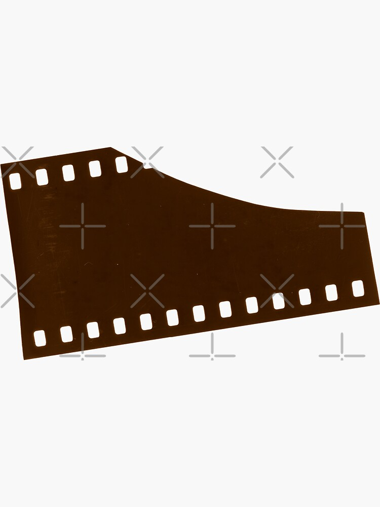 35mm Analogue Film Strip End by THPStock