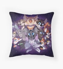 Could Be Frosted Stars Throw Pillow