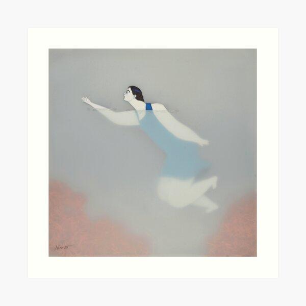 Water Woman VIII Lámina artística