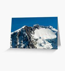 Piz Bernina Greeting Card