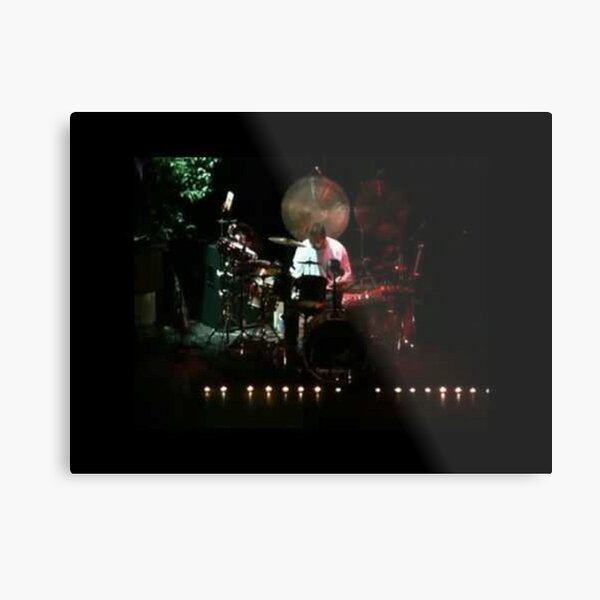 Tony DuPuis Drum Solo 2 XL Metal Print