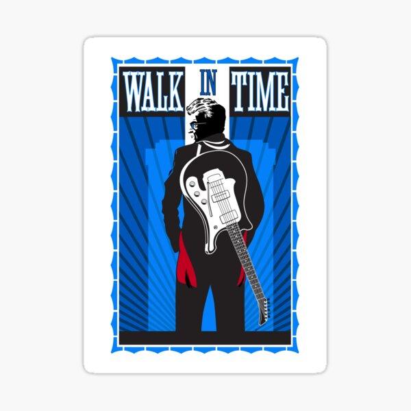 Walk in Time Sticker