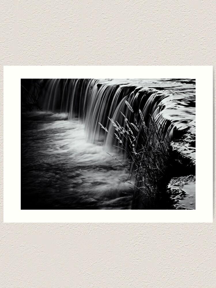 Alternate view of Waterval Art Print