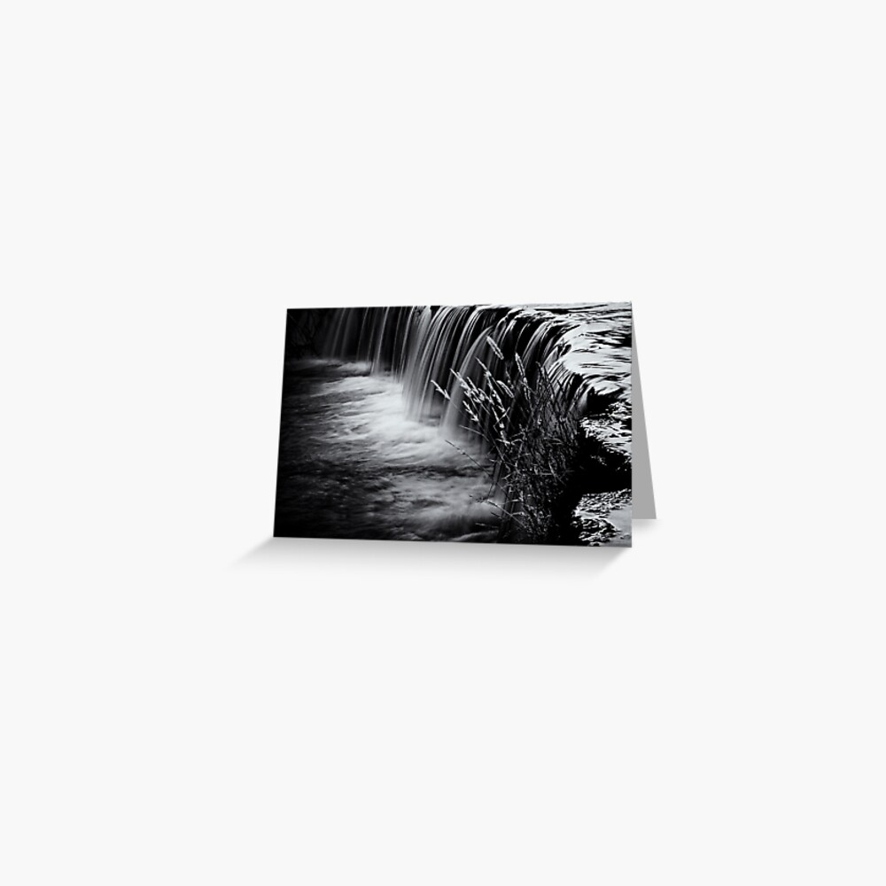 Waterval Greeting Card