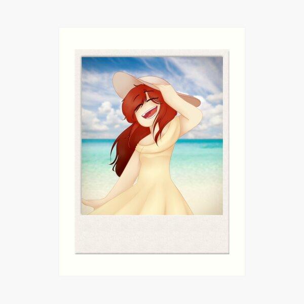 She -Oc- Art Print