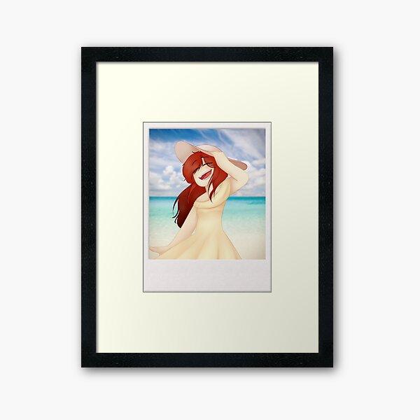She -Oc- Framed Art Print