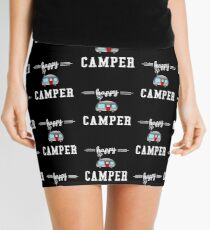 Happy Camper  Mini Skirt