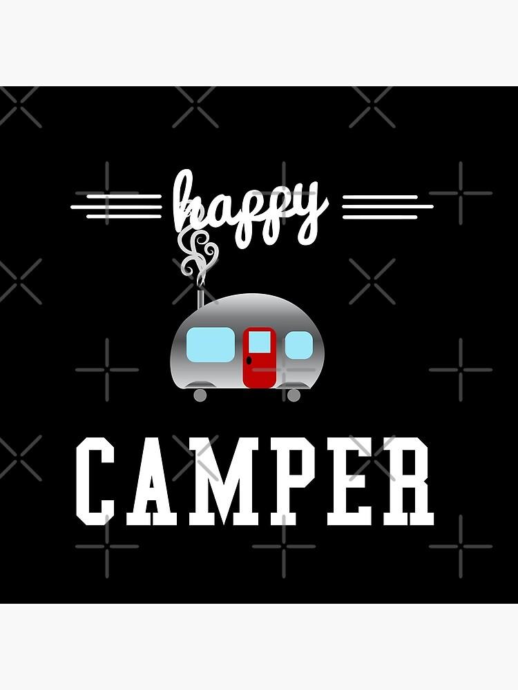 Glücklicher Camper von NobleImages